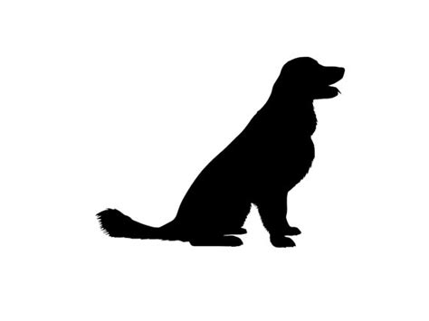 golden retriever silhouette golden retriever v3 breed silhouette custom die cut vinyl