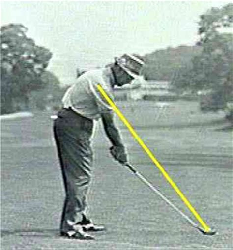 ben hogan swing down the line somax sports is vijay singh s golf swing costing him