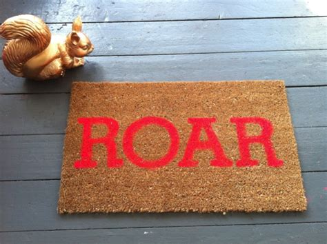 Cool Doormats Uk by Roar My Neon Silly Darn Cool Doormat Diy