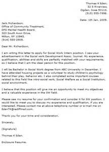 Child Social Worker Cover Letter by Cover Letter Signature
