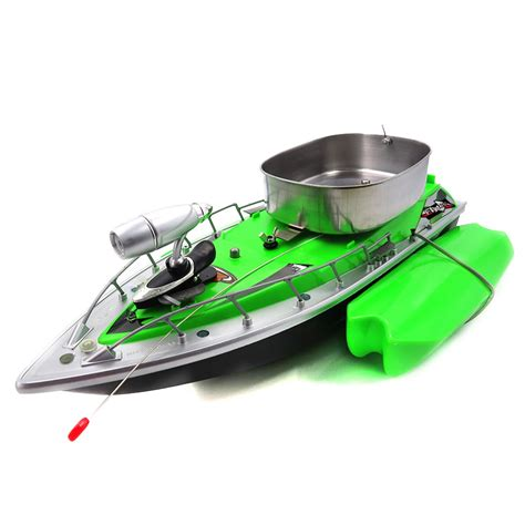 flytec rc fishing boat flytec 3 generation rc boat green