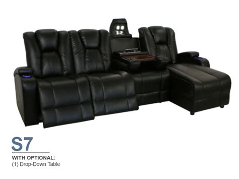 Home Theater Sectional Sofa by Seatcraft Innovator Sectional Home Theater Furniture 4seating