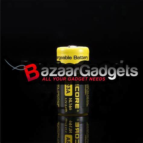Nitecore Rcr123a Rechargeable Li Ion Battery 650mah 3 7 Diskon 1 buy nitecore nl166 rcr123a 650mah rechargeable li ion