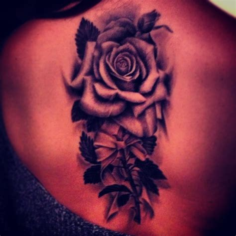 shaded rose tattoo designs the 25 best black tattoos ideas on black