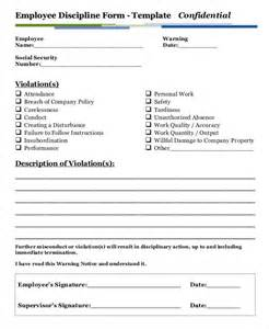 employee form template employee write up form 6 free word pdf documents