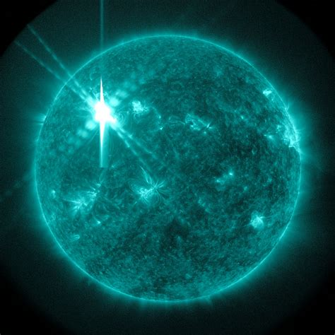 Solar Flare Lights What Would Happen If A Solar Hit The Earth