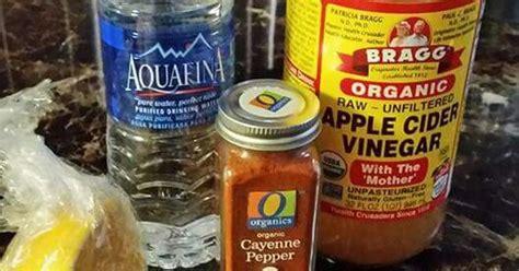 4oz Water Apple Cider Vinegar Lemon Juice Cayenne Pepper Detox by It Doesn T Taste So But It Works 4 Oz Of