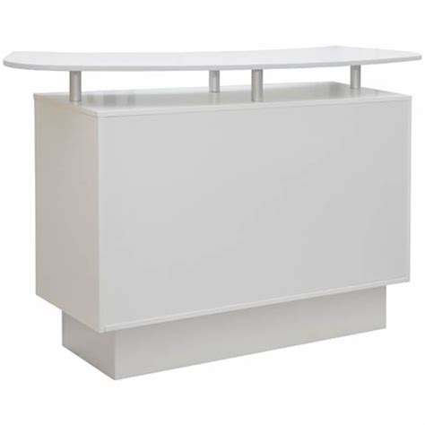 White Salon Reception Desk White Salon Reception Desk White Salon Reception Desk Reception Desks Furniture White Salon