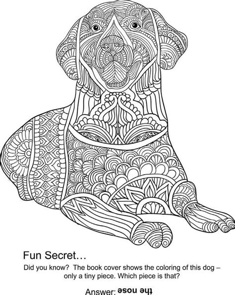 dog mandala coloring page 230 best images about coloriage mandala chien on pinterest