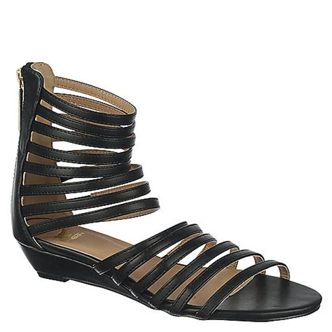 Sandal Wedges Wanita Lcu 132 buy shiekh womens chestnut sandal wedge 132