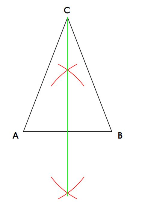 construct a triangle construct an isosceles triangle given the base and