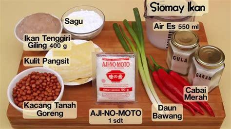 cara membuat siomay untuk jualan dapur umami siomay ikan youtube