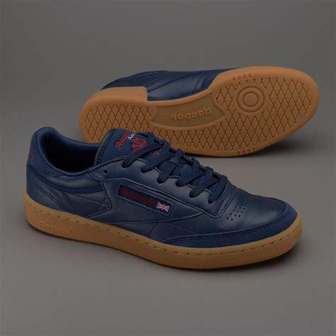 Sepatu Basket Merk Reebok sepatu sneakers reebok original club c 85 tdg collegiate navy