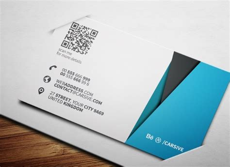 business card template psd free creative blue business card template psd titanui