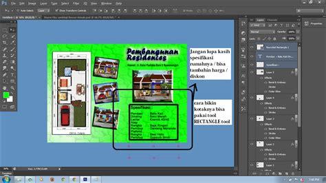 cara membuat brosur travel dengan photoshop cara membuat brosur perumahan dengan photoshop blog