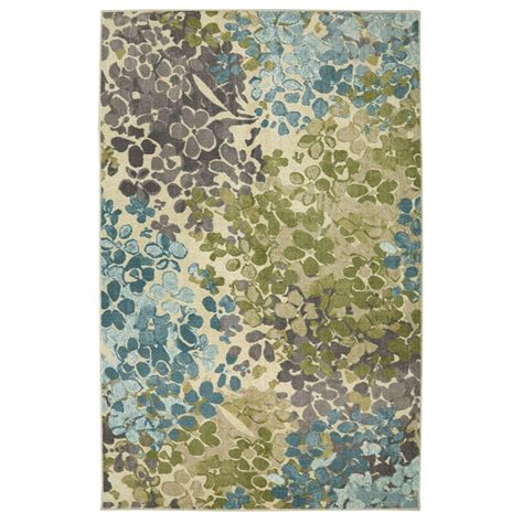 mohawk home radiance aqua 5 ft x 8 ft area rug 491321