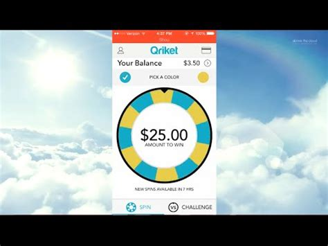 Spin And Win Paypal Money - spin the wheel and win money with qriket