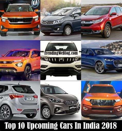 top  upcoming cars  india  price  india  launch date