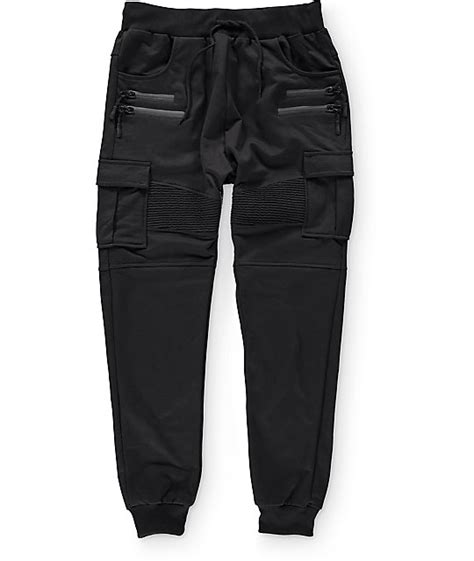 all american comfort pants get a jogger pant look with some added detail with the