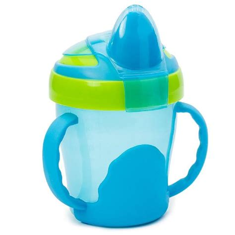 vital baby soft spout trainer cup with handles blue from ocado