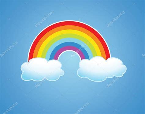 imagenes de nubes sin fondo vector arcoiris y nubes en el cielo archivo im 225 genes