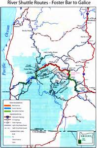 rogue valley oregon map maps and info on rafting and fishing trips in oregon