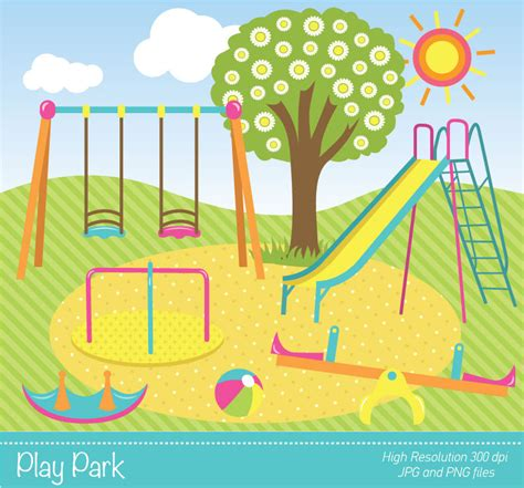 free park clipart park synkee
