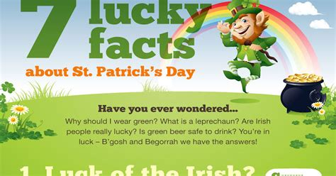 s day information 7 lucky facts about st patricks day pictures photos and