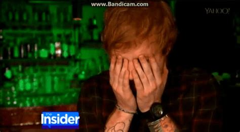 ed sheeran defends lion tattoo defend ed sheeran gif find share on giphy