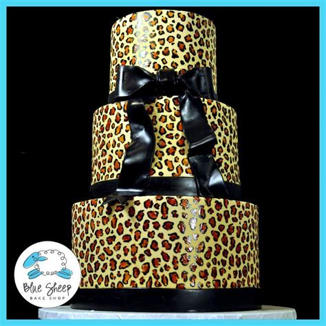 leopard birthday cake you have to see leopard birthday cake by bluesheep