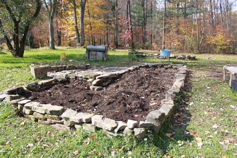 Rock Garden Bed Raised Beds Archives Homesteading On The