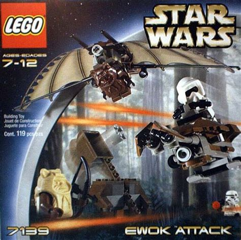 Lego 7139 Wars Ewok Attack lego 7139 wars ewok attack