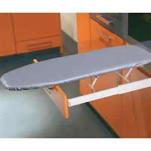 Description ironfix built in ironing board with sleeve arm and cover