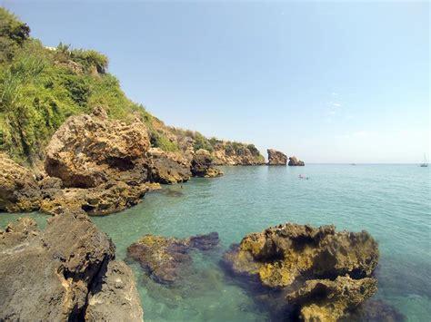 Best Beaches On The Costa Del Sol - La Caleta De Maro
