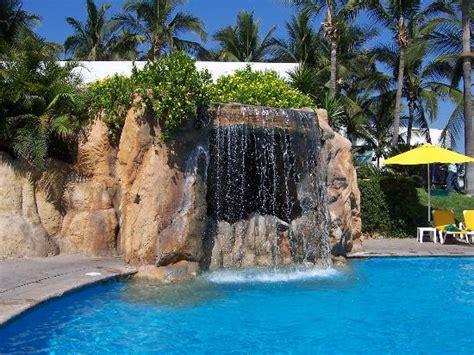 Sea Garden Mazatlan by Waterfall At The Pool