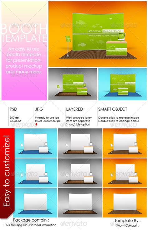 photo booth template psd booth mockup template scworkspace