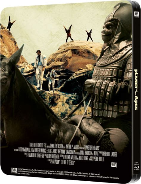 New Product Kaos Planet Of The Apes Design planet of the apes 1968 zavvi exclusive limited edition steelbook zavvi