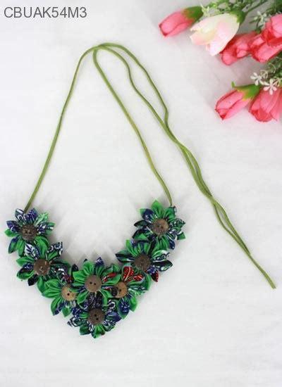 Kalung Batu Bunga kalung tali bunga kalep kalung etnik murah batikunik