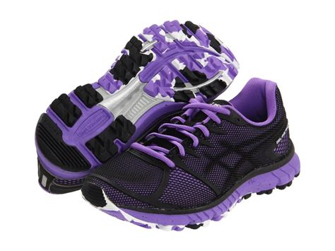 purple and black sneakers asics s gel instinct 33 running shoes sneakers black