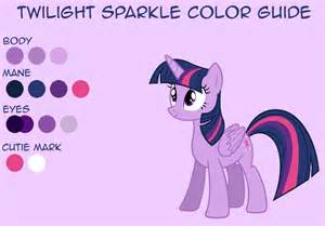 twilight color twilight sparkle color guide by leafiatree on deviantart
