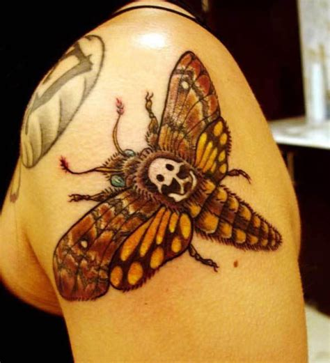 tattoo meaning death moth skull meaning images