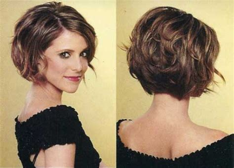 bob haircuts for curly hair front and back short stacked bob hairstyles for wavy hair