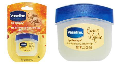 Vaseline Lip Therapy In Creme Brulee 7gr vaseline creme br 251 l 233 e lip therapy only 1 42 shipped coupon
