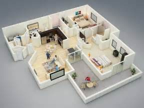 two bedroom home 25 more 2 bedroom 3d floor plans