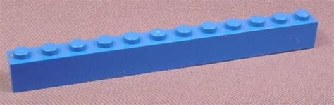 Lego Part 6112 611226 Black Brick 1x12 lego 6112 blue 1x12 brick wars studios aquazone trains rons rescued treasures