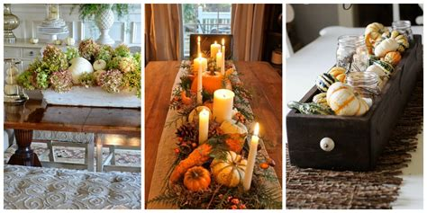 Fall Dining Table Centerpieces 20 Fall Table Centerpieces Autumn Centerpiece Ideas View Gallery Clipgoo