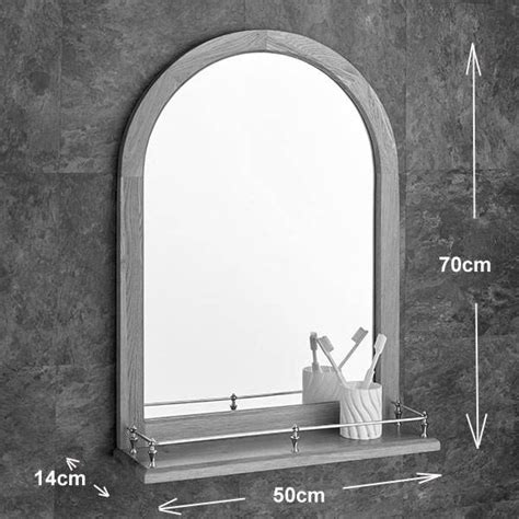 20 best collection of arched bathroom mirrors