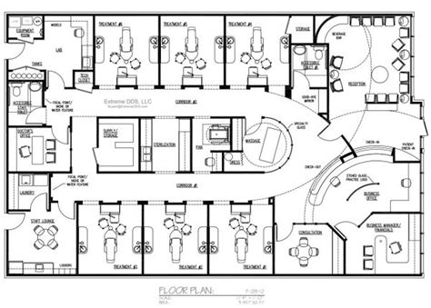 Dental Office Floor Plans by Dental Office Floor Plans Clinicas Hospital