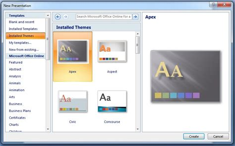 themes for windows powerpoint 2007 microsoft powerpoint 2007 microsoft powerpoint tutorial