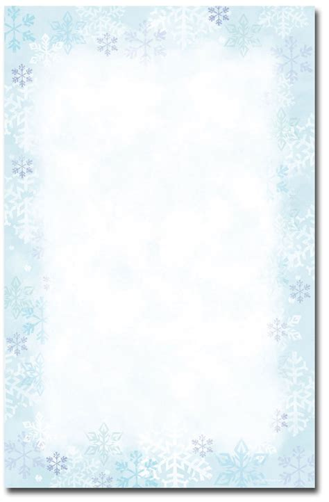 free template invitation card snowflakes snowflake invitation templates blank